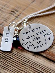 Lost Loved Ones To Cancer Loss Of Loved One Necklace Sterling Silver Memorial Jewelry