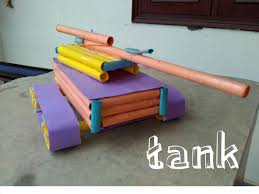 how to make a amazing paper tank easy learning toy for kids