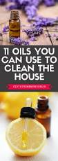 11 oils you can use to clean the house
