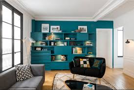 blue accent wall 16 living rooms with accent walls