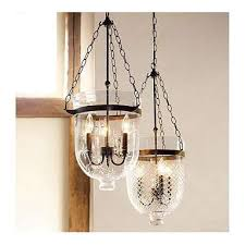 Pottery Barn Lantern Chandelier Pottery Barn Chandelier Discontinued Antique Copper Finish Glass