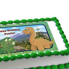 dinosaur pals edible image cake decoration