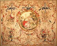 tappeto aubusson aubusson tapestry