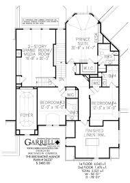 Media Room Floor Plans Brickmont Manor House Plan Estate Size House Plans