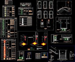 Extreme Emergency Exit DWG Detail for AutoCAD • Designs CAD #CO18