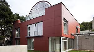 branik house prague the son law original architect jan prager those days large steel enamelled half cylinder was superimposed onto