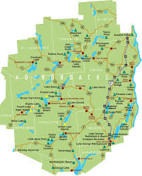 Map New York State New York State Campgrounds Map New York Map