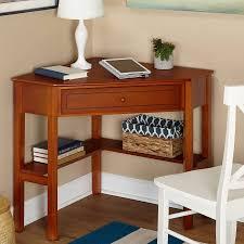 Writers Desks Corner Writing Desk Multiple Finishes Walmart Com