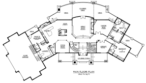 Floor Plans With Porte Cochere Luxury Plan 7 402 Square Feet 4 Bedrooms 5 Bathrooms 5631 00001