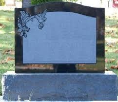 grave tombstone cemetery headstone jet black granite tombstone grave marker
