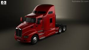 kenworth t660 360 view of kenworth t660 tractor truck 2008 3d model hum3d store