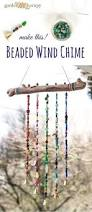 how to make a sparkling bead wind chime with bells kids arts