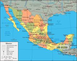 me a map of mexico darryl smelser departure tomorrow for southern mexico