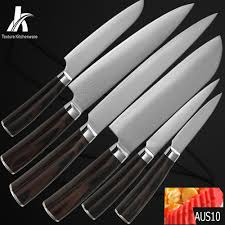 damascus kitchen knife set 6 trendy interior or kamosoto knives