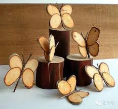 12 lovely wood slice crafts decorating woodworking and woods