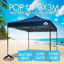 2 X 2 Metre Gazebo by 3x3m Gazebo Outdoor Pop Up Tent Folding Marquee Party Wedding