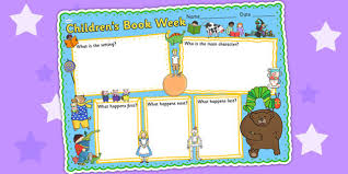 childrens book week book review template reading challenges