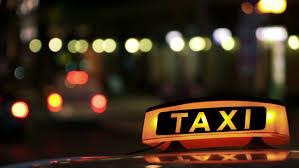 Taxi Light Illuminated Sighn Of Taxi Cab 2 Stock Footage Video 19804300