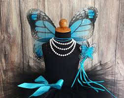 Blue Butterfly Halloween Costume Monarch Butterfly Costumes Girls Etsy