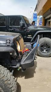 jeep stinger bumper jk wrangler brawler lite front bumper trail stinger tabs