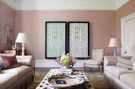 pink living room wall paint colour ideas houseandgarden co uk