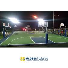 led basketball court 4 pole light basketball court lighting