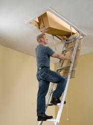 werner attic ladders installation support