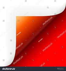 paper lower right corner stock vector 208755217 shutterstock