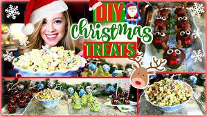 Christmas Party Treats - diy christmas treats quick u0026 easy holiday party treats youtube