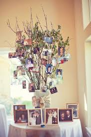 50th anniversary like the idea of a family tree with pics of