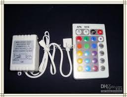 24 button rgb led light controller ir remote top quality 12v 6a