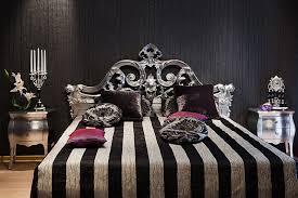 Silver Black Bedroom 27 Jaw Dropping Black Bedrooms Design Ideas Designing Idea