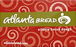 gift card company atlanta bread company gift card check your balance online raise