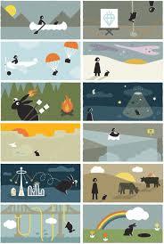 rabbit series childrens illustration pioneer rabbit series bureau of betterment