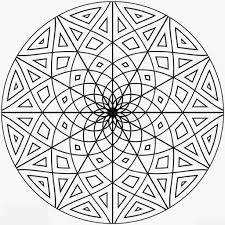 coloring pages intricate mandala coloring pages free mandala