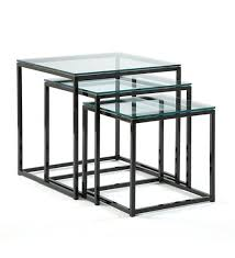 Cubic Nesting End Tables U2013 Johnston Casuals