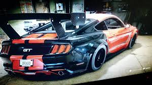 Green And Black Mustang Need For Speed 2015 Mustang Gt Red E Black Youtube