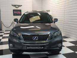 lexus rx450h uk used used lexus rx 450h 3 5 v6 advance 5dr cvt auto sunroof for sale