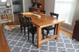 Simple Dining Table Plans Favorite Rustic Dining Table Plans White Woodworking Projects