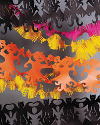 Halloween Garland Halloween Paper Chain Garland Martha Stewart