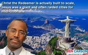 Ben Carson Meme - ben carson christ the redeemer politicalhumor