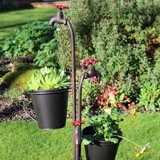 21 appealing tall garden planters home devotee
