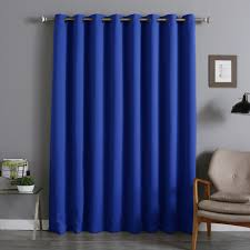 Purple Thermal Blackout Curtains by Jasper Solid Extra Wide Thermal Blackout Grommet Single Curtain