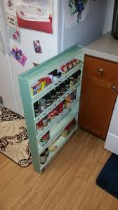 Over The Cabinet Spice Rack Best 25 Diy Spice Rack Ideas On Pinterest Pull Out Spice Rack