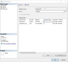 how to define the size of a sql server database enhansoft