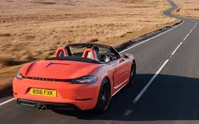 how to drive a porsche boxster porsche 718 boxster review still the best sports car on sale