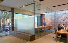 Office Desing Creative Office Design In San Francisco With A Frosted Window Decal