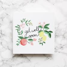 get well soon cards get well soon card sonni blush