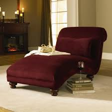 Red Leather Chaise Lounge Chairs Furniture Comfortable Chair Design With Elegant Indoor Chaise