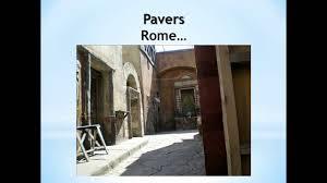 Concrete Patio Vs Pavers by Why Pavers Vs Slab Concrete Youtube